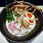 36584810 - 【鶏soba + 燻製玉子】¥800 + ¥100