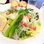 進々堂 - ランチ サラダセットのサラダ