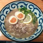 鴨屋 鴨いち - 【鴨源極味 + 鴨肉W + 煮玉子】¥590 + ¥200 + ¥100