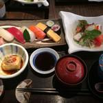 味の兵六 - 寿司ランチ
