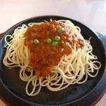 タイム - 料理写真:パスタとひき肉のトマト風味・単品¥850