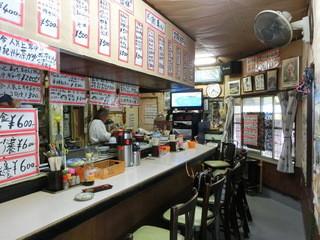 ねぼけ食堂 - ラーメン500円とか、玉子焼き300円とか、カレーラーメン600円とか、定食600円とか。(税込み価格)
