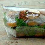 プロローグ - 料理写真:鴨肉のサンド