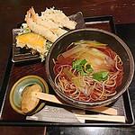 36589726 - 天ぷら蕎麦 1000円 (注)他の方が頼んだメニュー!