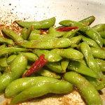 BONGO - 【普通の枝豆に飽きた人へ・・】斬新 焼き枝豆 【300円】