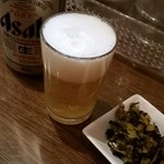 南蛮食堂 - 缶ビール390円