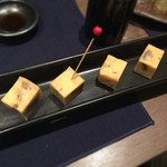 雪屋 - 鹿肉チーズ美味い((o(。>皿<。)o))‼︎