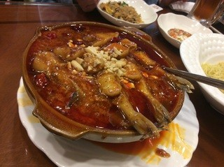 中国食府 双龍居 天満駅前店 - 白身魚の四川風煮込み1500円☆1
