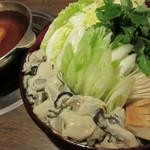 かき金 - 土手鍋