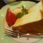 さぶりな - シフォンケーキ