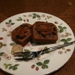 ガネッシュティールーム - あんずのケーキ