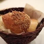 ラ・テンダ・ロッサ - パンも美味しかった