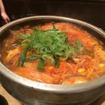 韓国料理とうがらし - 豆腐チゲ