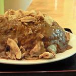 バーグ - 2008/12 初めて食べた激盛りクラス「スタミナカレー特盛り」