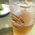 好麺 - 生ビール