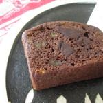 WILL cafe - チョコレートと柑橘のパウンドケーキ