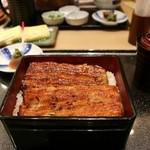 36604801 - 鰻重4320円肝吸い付きです、お値段は高いですが、ふわふわの身は柔らかく大変美味しい鰻でした、また食べに来ます