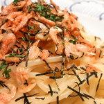 鎌倉パスタ - コレはお箸では食べにくかった・・・