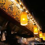 とりビアー - ジョッキの形のランプ