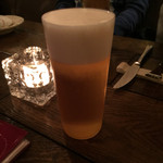 クスクス ルージール - 生ビール 2015-4