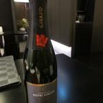 天雅 - このハーフボトルのシャンパンで。