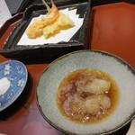 天雅 - 天ぷらが始まりました。