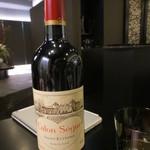 天雅 - ボルドー・セギュールというボルドーワインもいただきました。