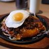 RYU - 料理写真:キーマカレーお好み焼き カレーもあうよ