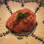 加藤牛肉店 - 牛のタタキ