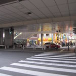小倉 揚子江の豚まん - お店の前面通り
