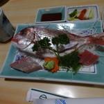 おおはし - 刺身定食:1,260円