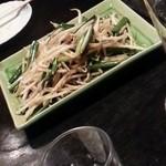 木の実 - ニラ炒め
