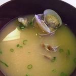 はま寿司 - アサリ沢山でつまみに良いです。