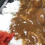 ラーメン茶湖 - ホッキカレーライス