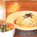 じょえる - 島ダコ明太パスタが美味しかったです!