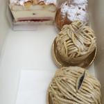 36614198 - モンブラン いちごのカルディナール シュークリーム 2015年3月