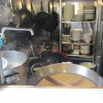 サン浜名 - 厨房です