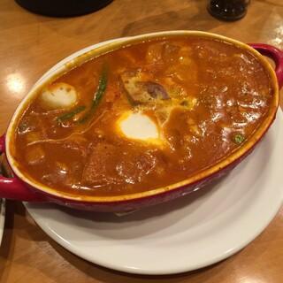 Kikuya Curry - 豚バラカリー バターマサラ