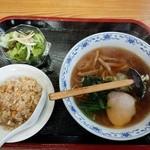 野口屋 - ラーメンセット680円
