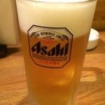 天力 - 生ビール♪