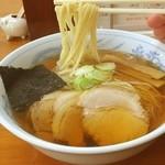 旬麺 - 焼干しラーメン650円