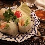 タイ国料理店 イサラ - ベトナム式生春巻き