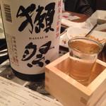 son-ju-cue - 日本酒 獺祭