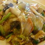 長安 - 什錦炒麺(五目あんかけヤキソバ)