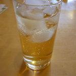 長安 - 杏露酒(ソーダ割り)