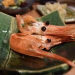 喜多郎寿し - 頭は塩焼きで食べるのが好きなのである。