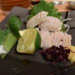 喜多郎寿し - 太刀魚の塩焼き。これも美味い♪