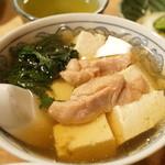 大衆割烹 三州屋 - 鳥豆腐(480円)