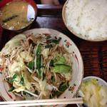 36621717 - 野菜炒め定食800円