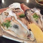 味彩 中々 - 生牡蠣